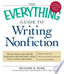 The Everything Guide To Writing Nonfiction book