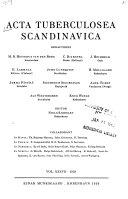 Acta tuberculosea Scandinavica
