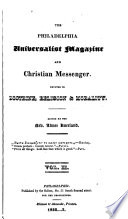 The Philadelphia Universalist Magazine and Christian Messenger