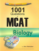 One Thousand and One Questions in MCAT Biology