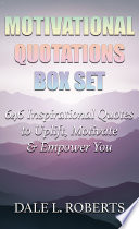 Motivational Quotations Box Set