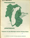 Conference  Pollution of Lake Michigan and Its Tributary Basin  Proceedings
