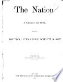 The Nation  Electronic Resource  Book PDF