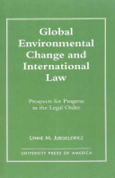 Global Environmental Change and International Law