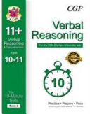 10-Minute Tests for 11+ Verbal Reasoning Ages 10-11 (Book 2) - CEM Test
