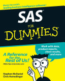 SAS For Dummies