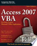 Access 2007 VBA Bible