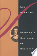Spinoza s Critique of Religion