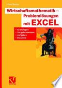 Wirtschaftsmathematik   Probleml  sungen mit EXCEL