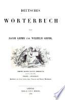 Deutsches Wörterbuch: bd., I. abth., 1. hälfte. Forschel-gefolgsmann. Bearb. von J. Grimm, K. Weigand und R. Hildebrand. 1878