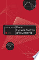 Radar System Analysis And Modeling book