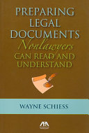 Preparing Legal Documents Nonlawyers Can Read and Understand