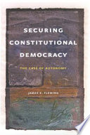 Securing Constitutional Democracy