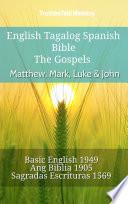 English Tagalog Spanish Bible The Gospels Matthew Mark Luke John