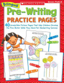 Bilingual Pre Writing Practice Pages