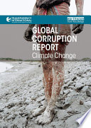 Global Corruption Report  Climate Change