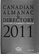 Canadian Almanac   Directory 2011