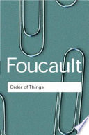 The Order Of Things : of the twentieth century, it...