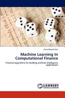MacHine Learning in Computational Finance
