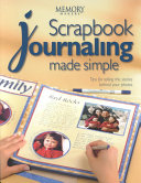 Scrapbook Journaling Made Simple