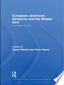 European American Relations and the Middle East