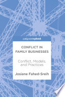 Conflict In Family Businesses