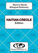 Haitian Creole Word to Word   Bilingual Dictionary