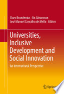 Universities  Inclusive Development and Social Innovation
