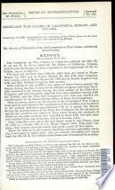 Rebellion War Claims of California  Oregon  and Nevada     Book PDF
