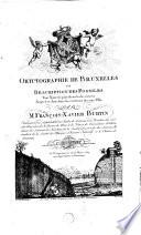 Oryctographie De Bruxelles ou Description Des Fossiles