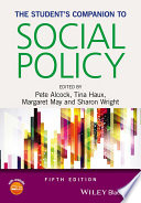 The Student s Companion to Social Policy