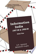 Information India 1997 98 And 1998 99   Global View