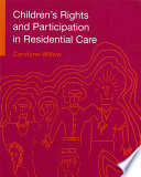 Children S Rights And Participation In Residential Care