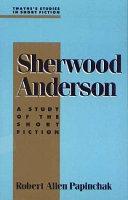 Sherwood Anderson Book PDF
