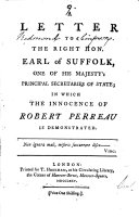 download ebook a letter to the right hon. earl of suffolk pdf epub