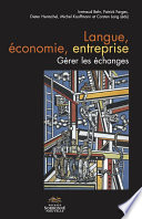 illustration du livre Langue, économie, entreprise. Gérer les échanges