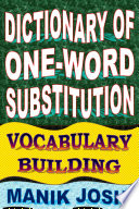 Dictionary Of One Word Substitution