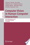 Computer Vision In Human Computer Interaction