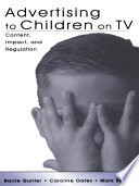 Advertising to Children on TV