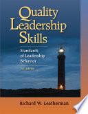 Quality Leadership Skills, 3rd Edition