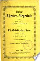 Wiener Theater-Repertoir