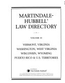 The Martindale Hubbell Law Directory book