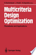 Multicriteria Design Optimization book
