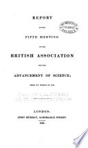 Report of the     Meeting of the British Association for the Advancement of Science