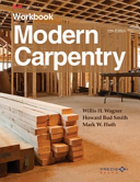 Modern Carpentry Workbook