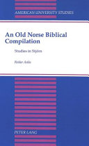 An Old Norse biblical compilation