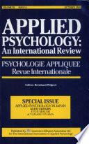 Applied Psychology in Japan