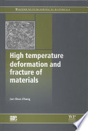 High Temperature Deformation and Fracture of Materials