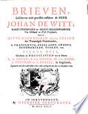 Brieven Deel L De Nassau S Van Hoorn M Van Gogh J Meerman En J Boreel In Engelandt 1 July 1660 27 Dec 1669
