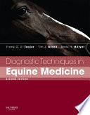 Diagnostic Techniques in Equine Medicine E-Book